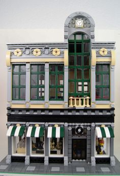 Record Store (front)   by SEBASTIAN-Z