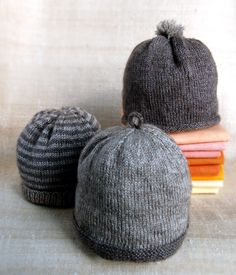 Heirloom Hats for Newborns - quick knit some up and keep 'em on hand for when they might be needed.