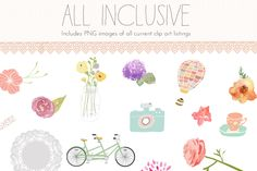 Angie Makes Clip Art Package by Angie Makes on Creative Market