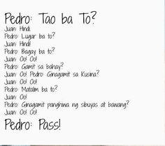 Tagalog Jokes Juan Pedro Jokes