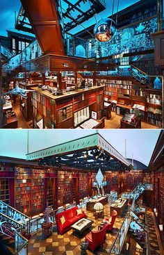 "The most amazing private library ever -  ""The Walker Library of the History of Human Imagination."" It belongs to Jay Walker."