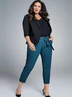 HOW TO SLAY IN WORK OUTFITS THIS WEEK AS A PLUS SIZE LADY