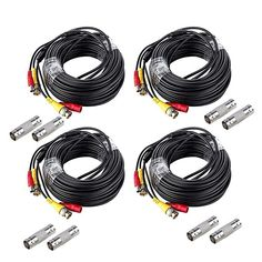 CCTV Security Camera DC Wire Power Pigtails Adapter Plug Lead Cord Coax Cables HDView 10PCS Male Power Plug Pigtail Cable