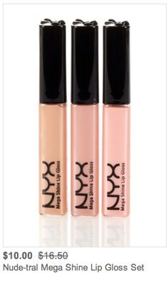 Hautelook Heads Up: the things I'd recommend from today's NYX Cosmetics sale on Hautelook- click for full list