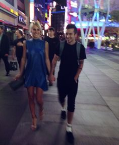 Jenna Joseph and Tyler Joseph after the vmas