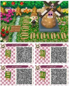 Qr code acnl paterne You are in the right place about Acnl house room Here we offer you the most beautiful pictures about the Acnl house you are looking for. When you examine the Qr code acnl paterne part of the picture you … Qr Code Animal Crossing, Animal Crossing Qr Codes Clothes, Animal Crossing Pocket Camp, Acnl Qr Code Sol, Animals Tattoo, Acnl Paths, Thomas Jones, Motif Acnl, Ac New Leaf