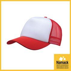 Nuevas Gorras Trucker ROJA O NEGRA con logo personalizado. ¿Qué estás esperando? Cantidad mínima: 50 Consultanos en info@namack.com.ar o llamanos al 4717-0835 #Gorras #Tracker #Rojo #Negro #Merchandising #Namack #Miércoles #Adventure