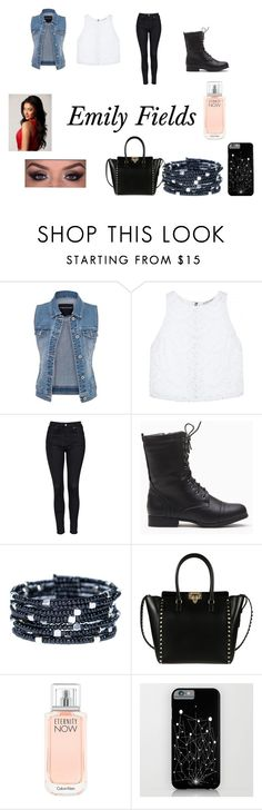"""""""Emily Fields Outfit"""" by fab-gymnasts-xoxo on Polyvore featuring maurices, Alice + Olivia, Topshop, Valentino and Calvin Klein"""