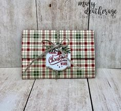 Stampin' Up! Christmas Traditions Pop-Up Gift Card Holder | Stamps – n - Lingers