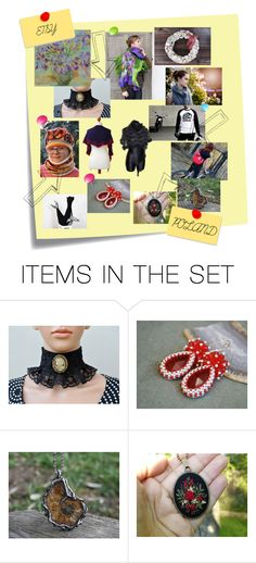 """""""ETSY POLAND"""" by szkatulkaami ❤ liked on Polyvore featuring art"""