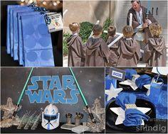 Fiesta Star Wars: ¡ni el estreno de la saga...!