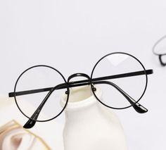 d425a0c8f6 Round Frame Clear Lens Nerd Glasses Round Frame Glasses