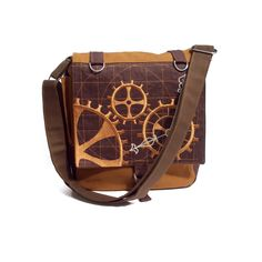 https://flic.kr/p/8udfr9 | Steampunk Inspired Satchel Bag | Lately I've been inspired by all things Steampunk and here's the result!   Copyright © 2010 LB Accessories All designs and images are copyright to LB Accessories