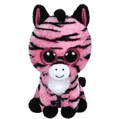 Ty Beanie Boos Zoey Zebra Small