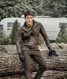 Kim Woo Bin is ruggedly handsome in new Merrell pictorial