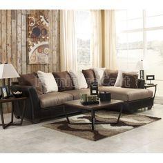 Living Room Ideas Mocha darcy mocha sectionalashley signature design: 7500255 | living