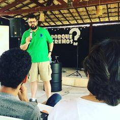 Retiro de Jovens da Igreja Bereana Natal acontecendo agora. #mdfe #ministeriodefesadafe #jovens #retiro #apologetica #apologetics  #porquetemosrazoesparacrer