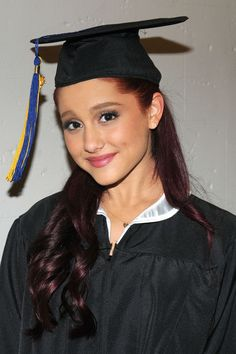 Ariana Grande graduates from High School - Celeb Crunch