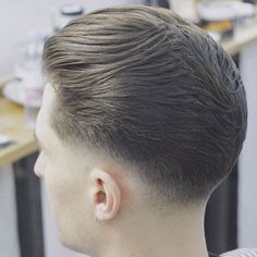 Low Fade with Textured Brush Back