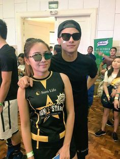 This is the pretty Kathryn Bernardo and the handsome Daniel Padilla smiling for the camera while arriving at the Star Magic Games 2016 at the Celebrity Sports Plaza in Quezon City last May 22, 2016. Indeed, KathNiel is my favourite Kapamilya love team, and they're amazing Star Magic talents. #KathrynBernardo#TeenQueen #DanielPadilla #KathNiel #KathNielBernaDilla #StarMagicGames #StarMagicGames2016