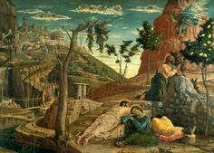 Andrea Mantegna, The Agony in the Garden, 1459, Louvre