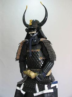 The samurai - the heavy armored knight of Japan.