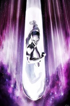 This piece is the second one of my Silver Surfer artworks. After gathering the entire energy of the power cosmic he is unleashing a massive cosmic blast. The Silver Surfer-Cosmic Blast Marvel Comic Character, Comic Book Characters, Comic Book Heroes, Marvel Characters, Comic Books Art, Comic Art, Comic Pics, Marvel Comics Art, Marvel Heroes