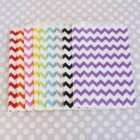 Chevron Party Favor Bags and other designs for purchase!