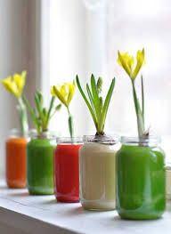 Resultado de imagen para reciclando frascos de vidrio