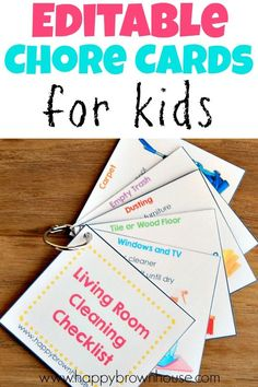 Have more fun with your kids and learn how to be a more patient parent. 19 positive parenting ideas to help you pick patience over frustration. Chore List For Kids, Chore Chart Kids, Chores For Kids, Fun Activities For Kids, Parenting Advice, Kids And Parenting, Practical Parenting, Printable Chore Cards, Free Printable