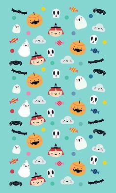 La tienda de dibus: [freebie] Pequeña colección de fondos de teléfono móvil para Halloween