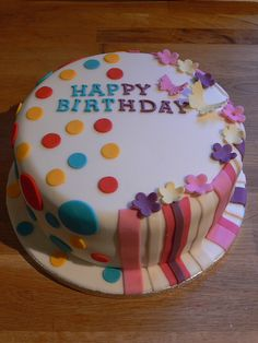 Birthday cake made for boy and girl joint party coffee group joint