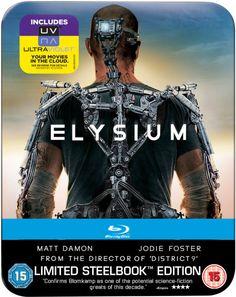 ELYSIUM – Limited Edition Steelbook Blu-Ray £11.99