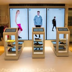 Want shoes ? Tap the screen !  Visit #MPV2016 the marketing at retail show in Paris !  more info : www.mpv-paris.com