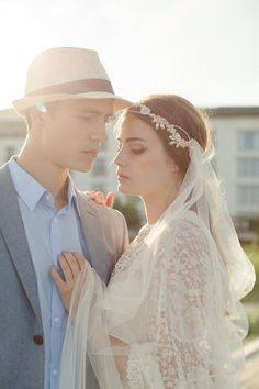 Velo de tul de seda  velo de novia  velo de novia por JannieBaltzer