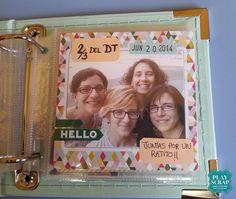Inspiración con Inma de nuestro DT: Un mini álbum lleno de Insta-ntes Frame, Home Decor, Mini Albums, Picture Frame, Decoration Home, Room Decor, Frames, Hoop, Interior Decorating