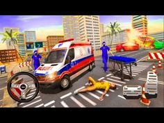 Police Ambulance Games: Emergency Rescue Simulator - Android Gameplay - YouTube