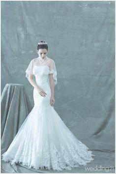 [웨딩드레스] 블랙라벨 웨딩드레스가 펼치는 극강의 아름다움, 라포엠 블랙라벨 비쥬블랑쉬 < 웨딩뉴스 < 월간웨딩21 웨프