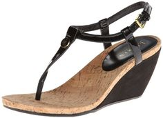 Fashion Bug Womens Reeta Wedge Sandal Cute and Comfortable. www.fashionbug.us