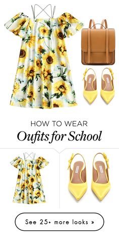 """""""Untitled #1310"""" by maddieandmaddy on Polyvore featuring Tabitha Simmons"""