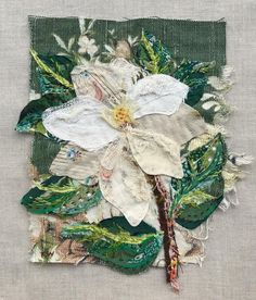 Textile Art 503066220878356141 - Would you like to make a Wattle&Loop picture? I often get asked about classes but as I only teach in Australia, I have a range of Kits you… Source by michellecauvin Art Fibres Textiles, Textile Fiber Art, Sewing Art, Sewing Crafts, Sewing Projects, Embroidery Art, Embroidery Stitches, Embroidery Designs, Thread Painting