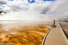 Yellowstone National Park. USA 2015