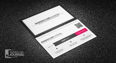 Free professional vertical qr code business card template more at free clean qr code metro style business card template more at designresources fbccfo Images