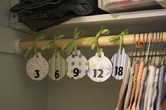 baby closet dividers