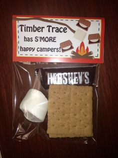 """Timber Trace Elementary gives an awesome """"Camp High Five"""" gift to their teachers."""