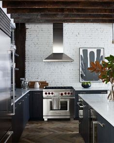 Industrial-chic loft in NoHo features glammed up interiors
