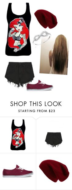 """""""My Modern Day Ariel"""" by bree70475 on Polyvore featuring Disney, Nana Judy, Vans, Sole Society, Reeds Jewelers and modern"""