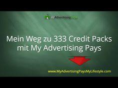 [ Mein Weg ] von 3 auf 333 Credit Packs bei My Advertising Pays – Meine Geschichte - YouTube