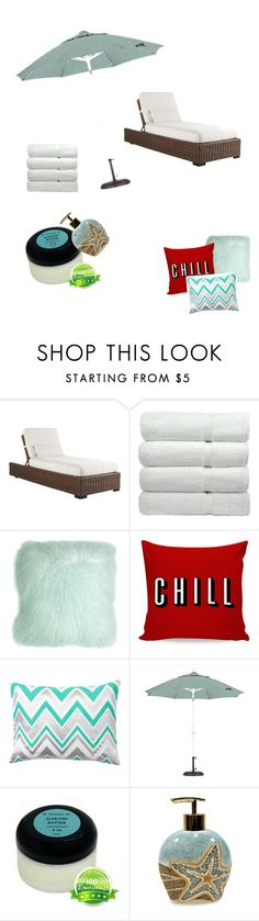 """""""spa- ing it up!!"""" by cheerleadershaye ❤ liked on Polyvore featuring interior, interiors, interior design, home, home decor, interior decorating, Tommy Bahama, Pillow Decor, PBteen and Croscill"""