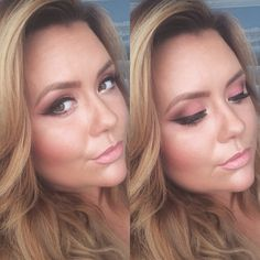 Sparkles & Pink - click to check out the step by step process in creating this look!